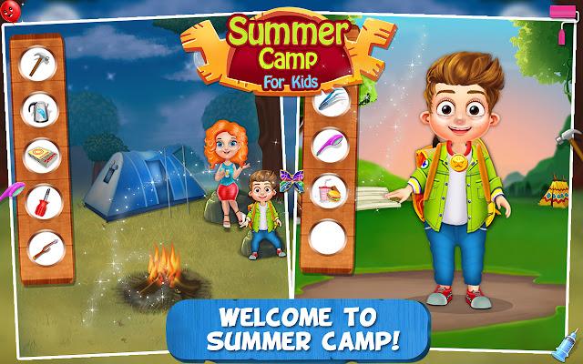 kids summer camp game