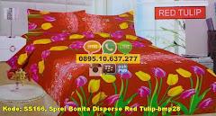 Harga Sprei Bonita Disperse Red Tulip-bmp28 Jual