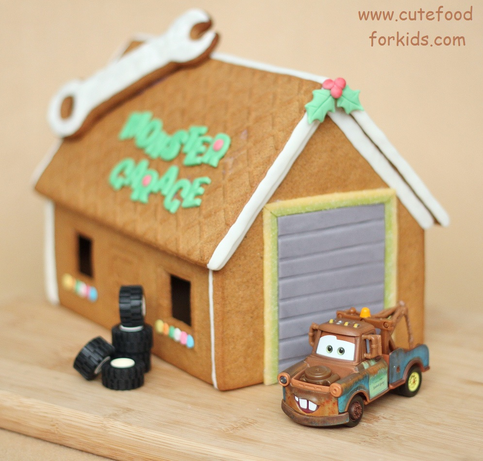 Cute Food For Kids IKEA Gingerbread House Kit Monster Garage - Gingerbread house garage