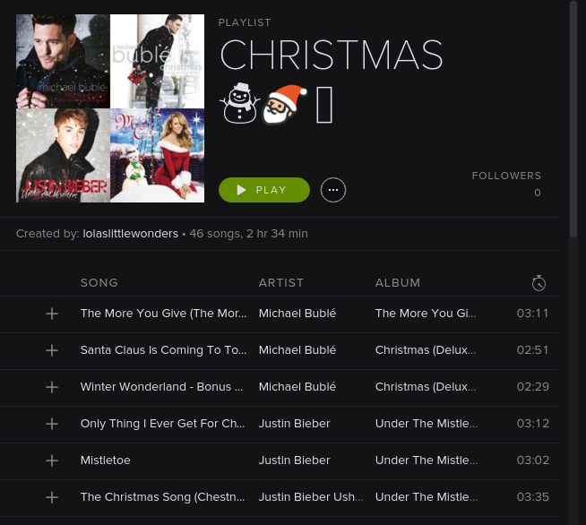 Christmas Soundtrack