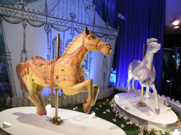 Carousel horses Mary Poppins Disney D23 Expo 2013