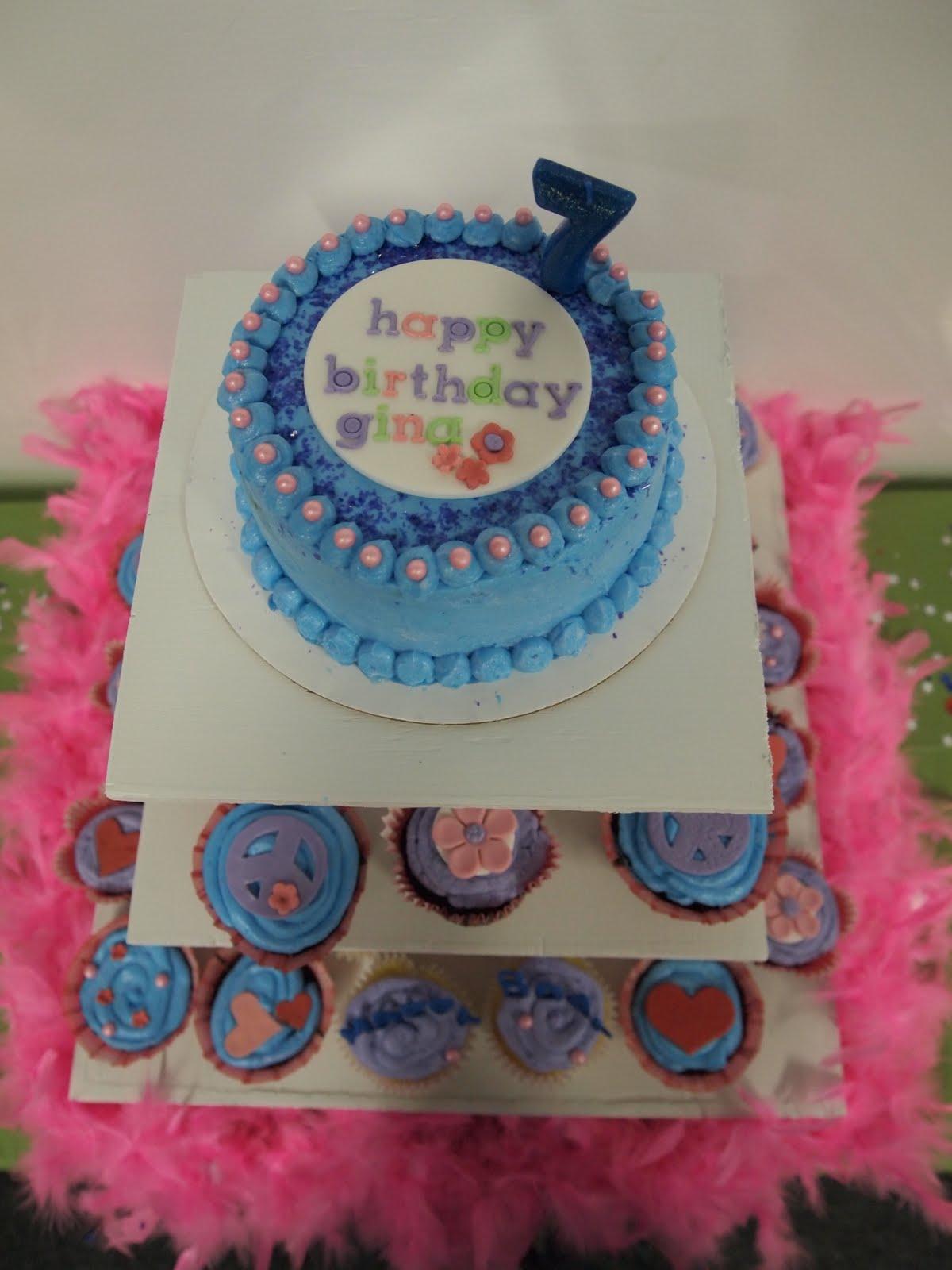 Hello Cupcake Ginas 7th Birthday