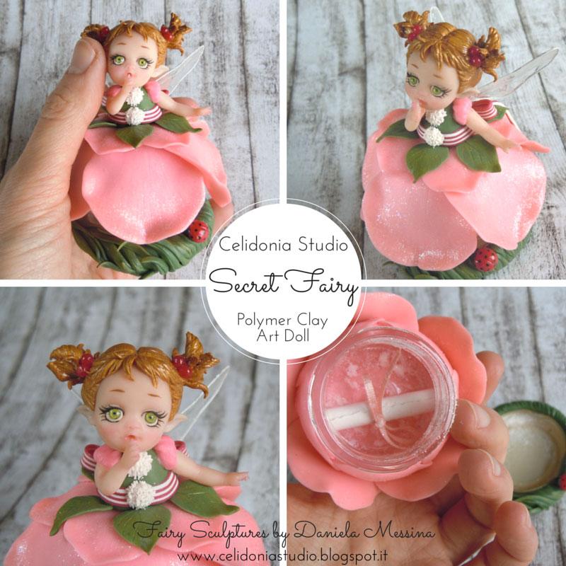 Secret Fairy, la Fatina dei Segreti - Celidonia Studio by Daniela Messina