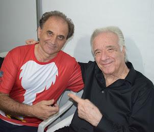 Airton Engster dos Santos e Maestro João Carlos Martins