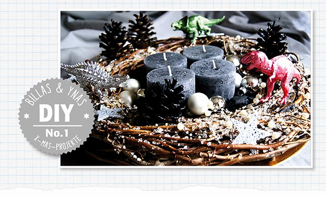 Ynas Design Blog, DIY, Adventskranz