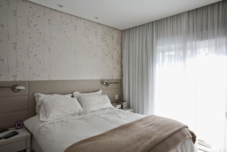 Decor quartos de casal decorados - Papel decorado para paredes ...