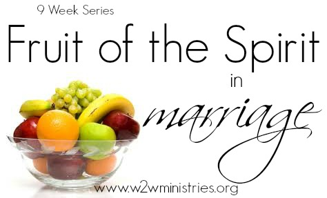 #Fruit of the #Spirit in #marriage