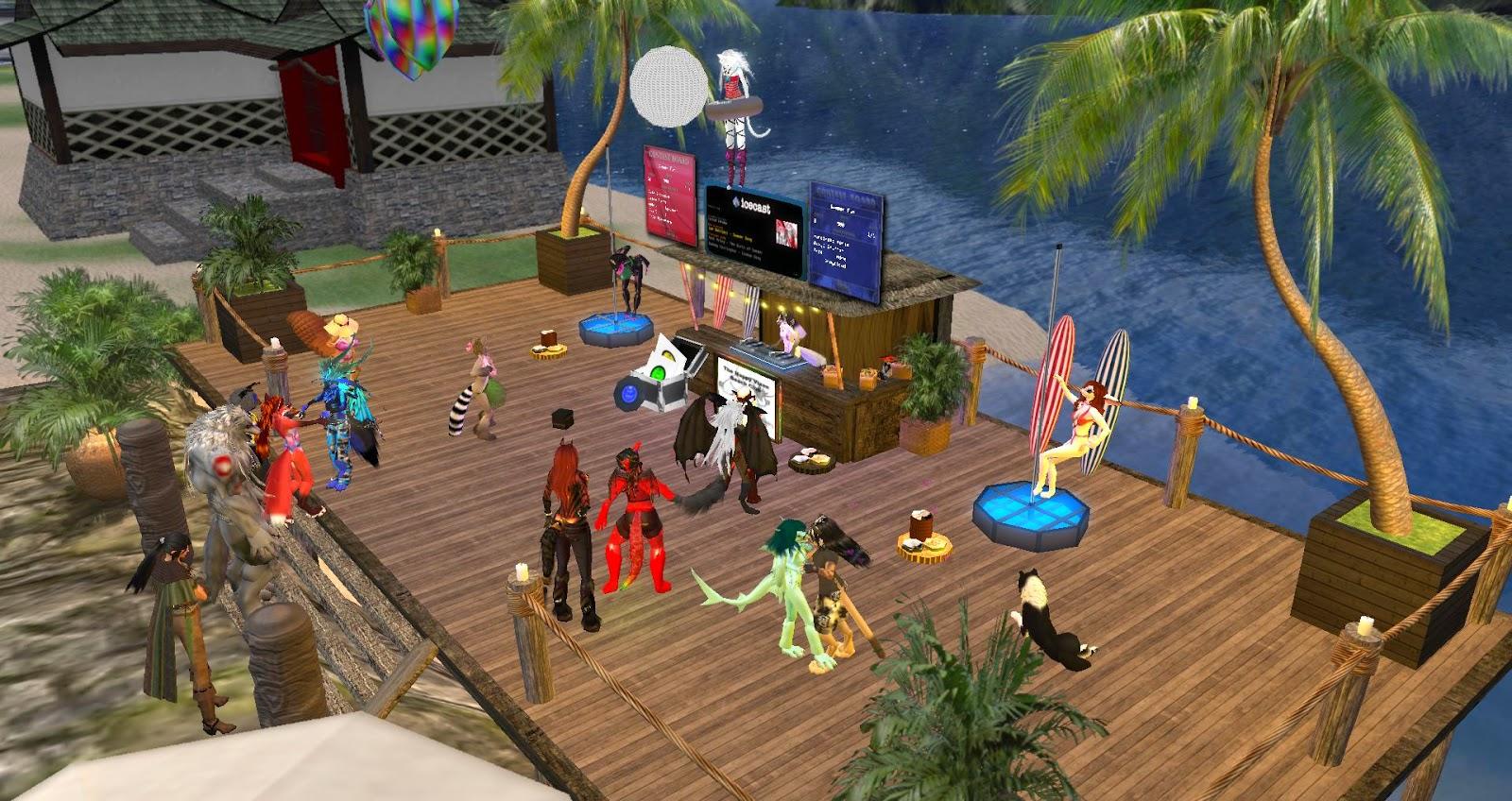 Second Life Newser: The Happy Vixen Beach Club Expands