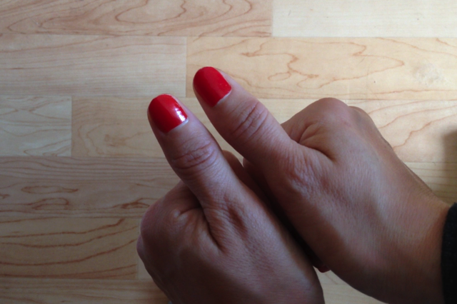 Thumb joint lump and pain