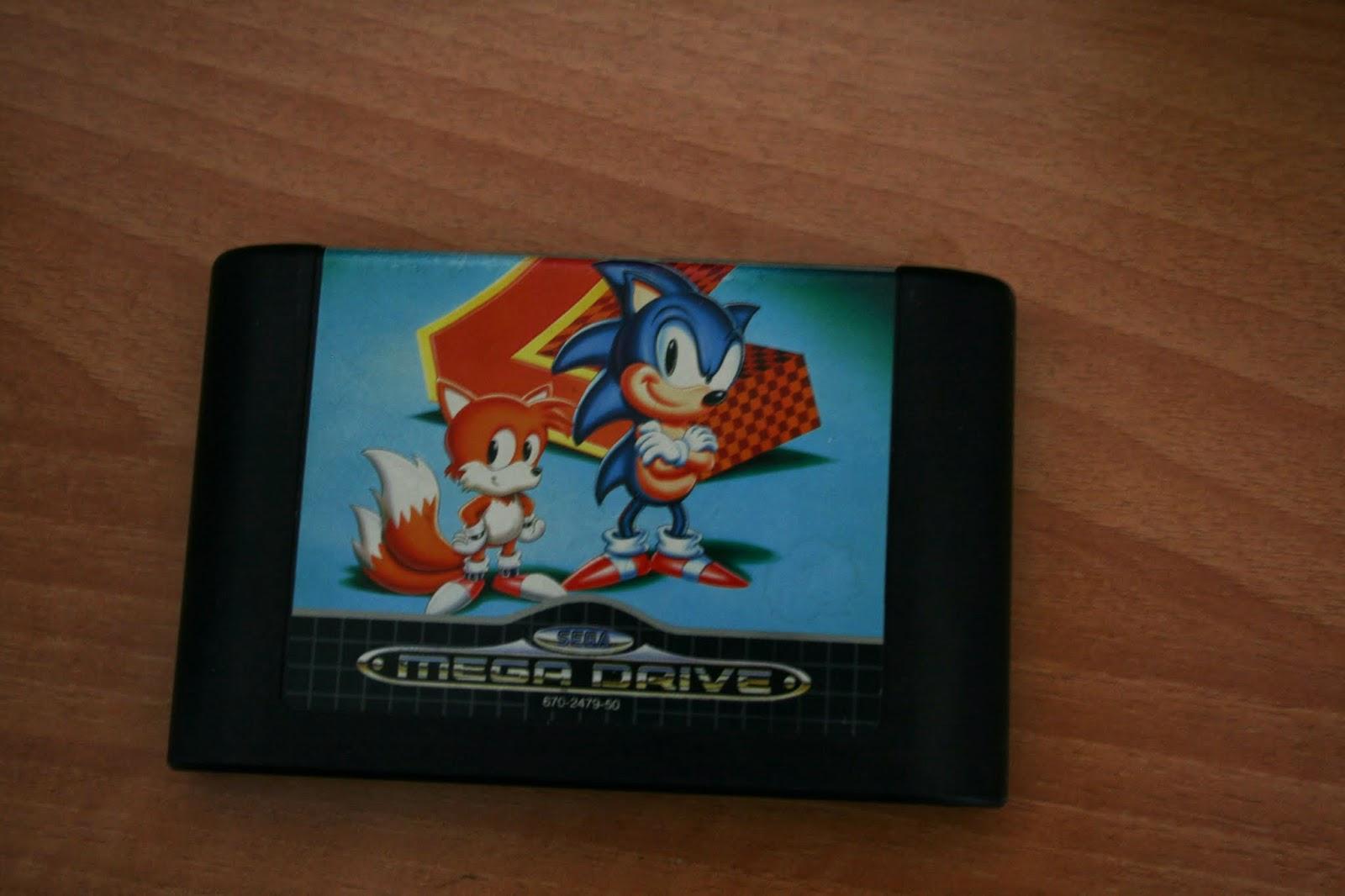 Sonic the hedgehog 2 for Mega Drive