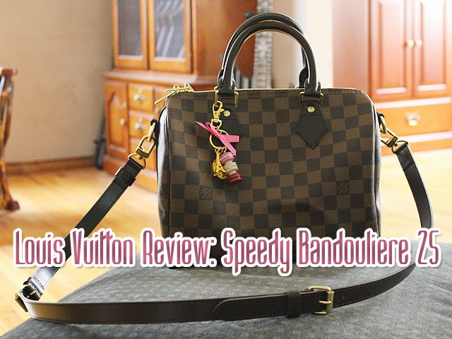 Speedy Bandoulière 25 - Damier Ebene Canvas - Handbags | LOUIS VUITTON