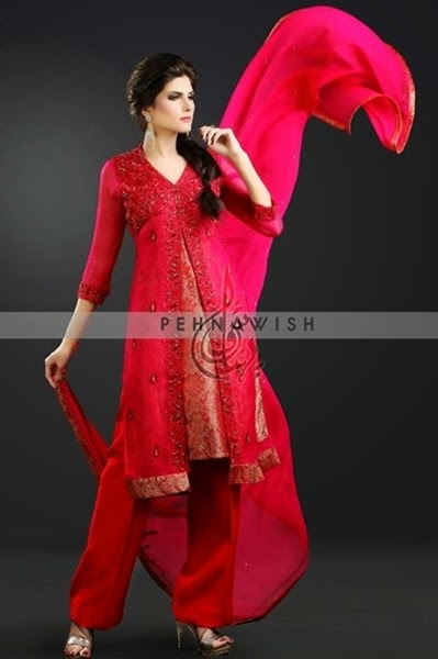 Pehnawish Exquisite Pret Wear 2014-15