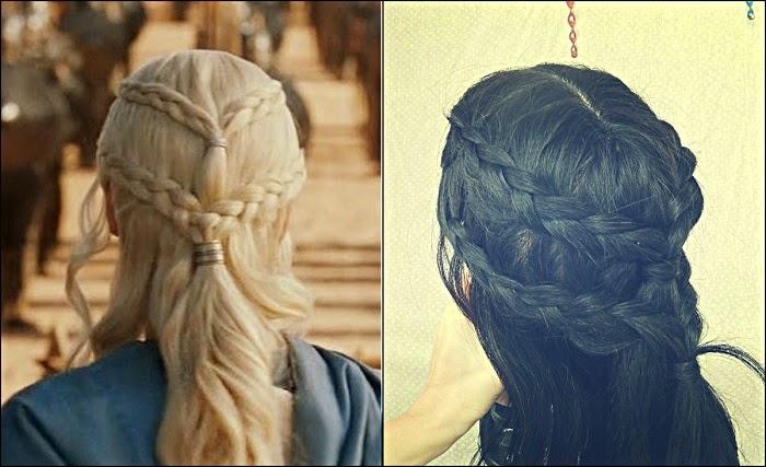 Penteado Daenerys tutorial