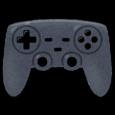 ゲームのコントローラーのイラスト