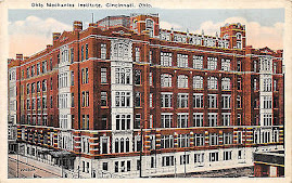 CINCINNATI POSTCARDS: The Ohio Mechanics Institute
