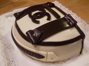 Chanel nesszereszer torta készítése