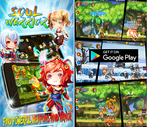 Action Game of the Month - Soul Warriors