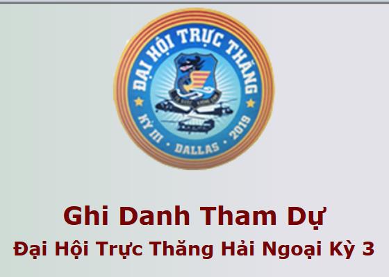 Ghi Danh Tham Dự Đại Hội Trực Thăng Hải Ngoại Kỳ 3