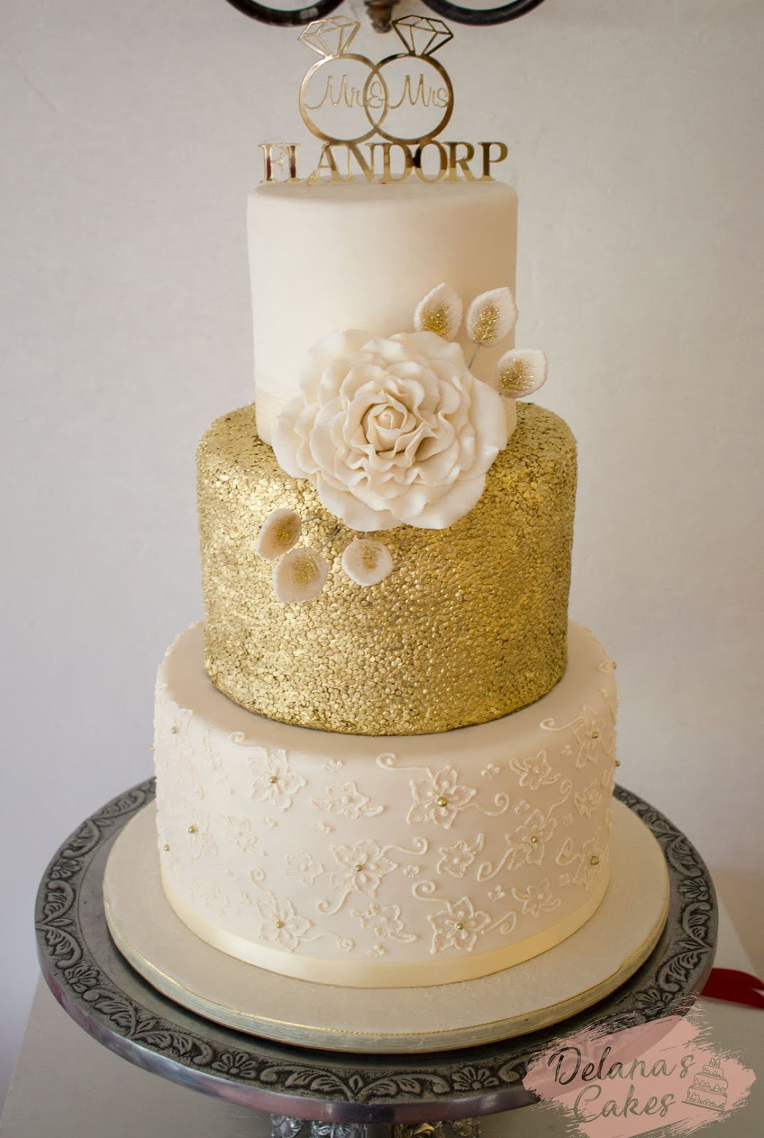 White Chocolate Cakes Wedding