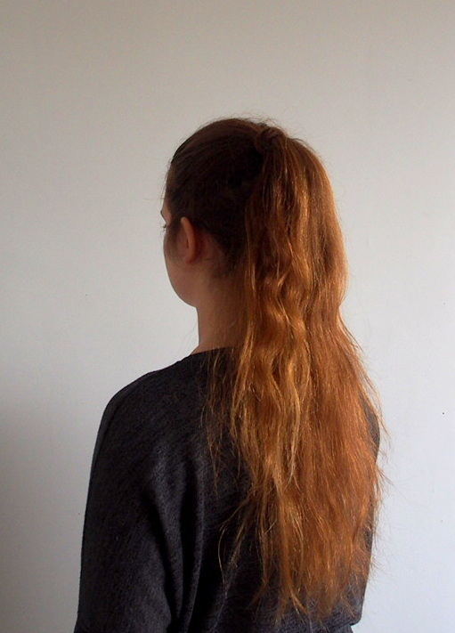 How To: Long Ponytail.