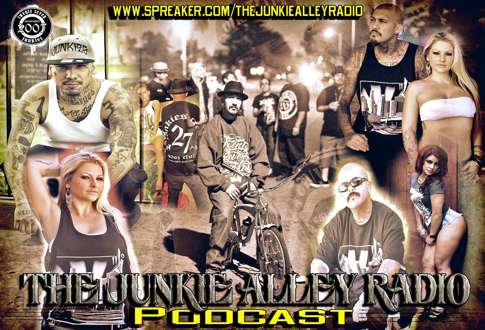 The Junkie Alley Radio