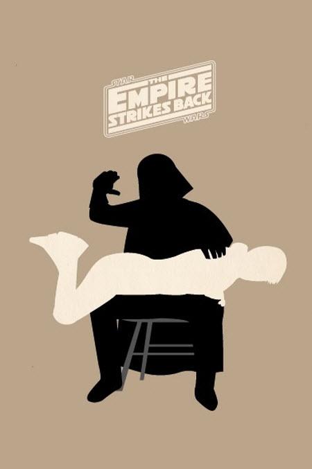 Resumen de El Imperio Contraataca en una imagen
