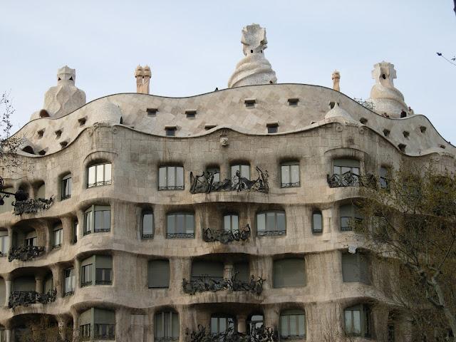 La Pedrera, Barcelona, Antoni Gaudi