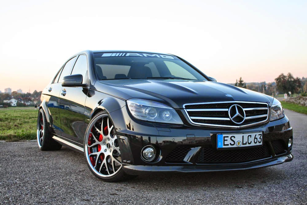 mercedes benz c63 amg w204 on r20 moz wheels benztuning. Black Bedroom Furniture Sets. Home Design Ideas