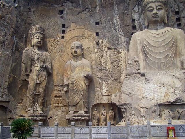 Logmen grottoes Luoyang