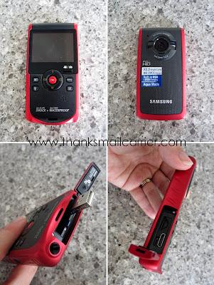 Samsung handheld camcorder
