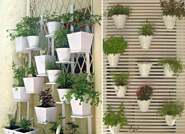 Eco jardins e hortas tudo sobre mini hortas for Modelos de mini apartamentos