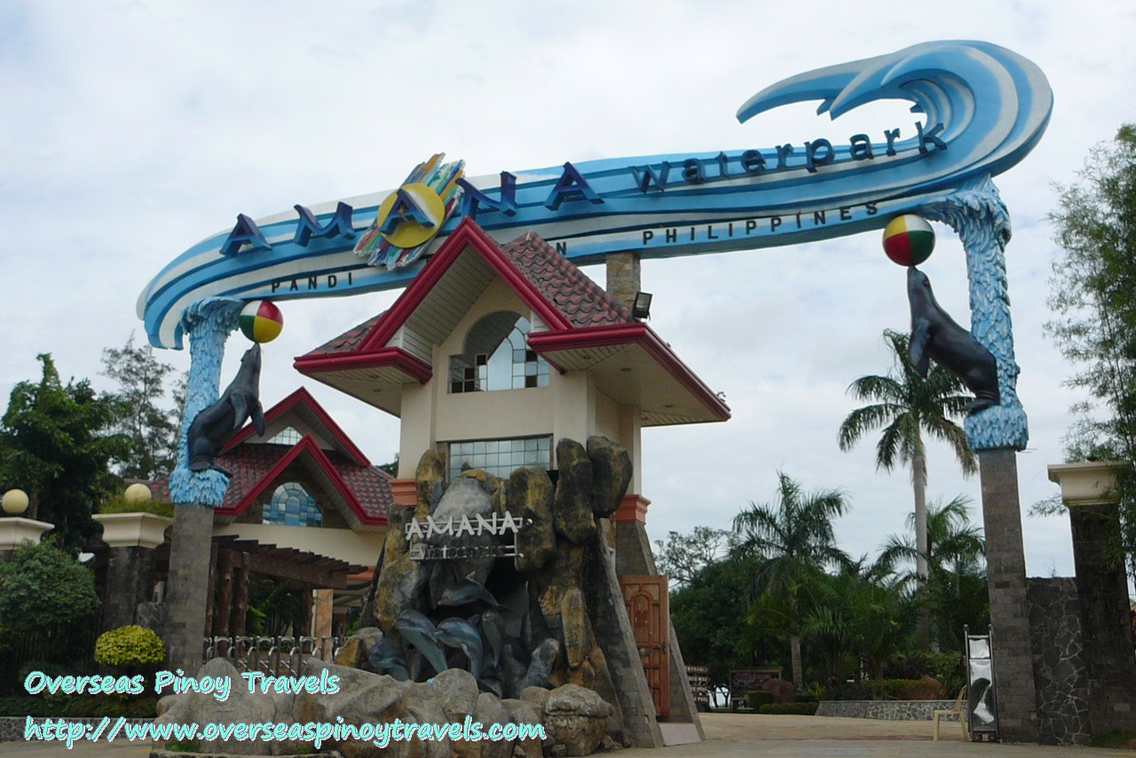 Pandi Philippines  city images : Overseas Pinoy Travels: Amana Water Park, Pandi, Bulacan