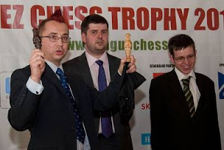 Echecs à Prague : Svidler - Navara - Photo © site officiel
