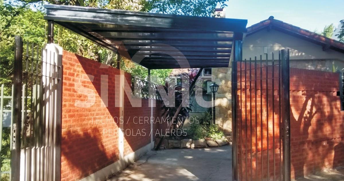 Techo de policarbonato pergolas aleros techo de for Alquileres en ciudad jardin el palomar
