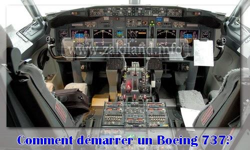 Comment démarrer le Boeing 737
