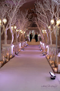 Le fabuleux events presents one fab event winter wedding decor ideas