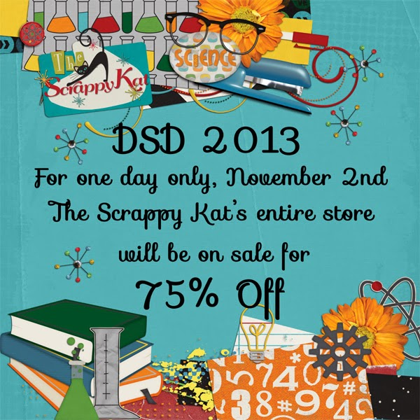 Pic of Advertisment for The Scrappy Kat's Sale