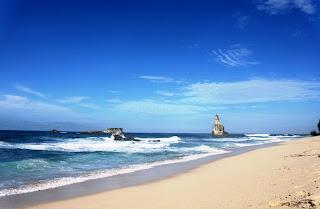 Karang di Pantai Buyutan