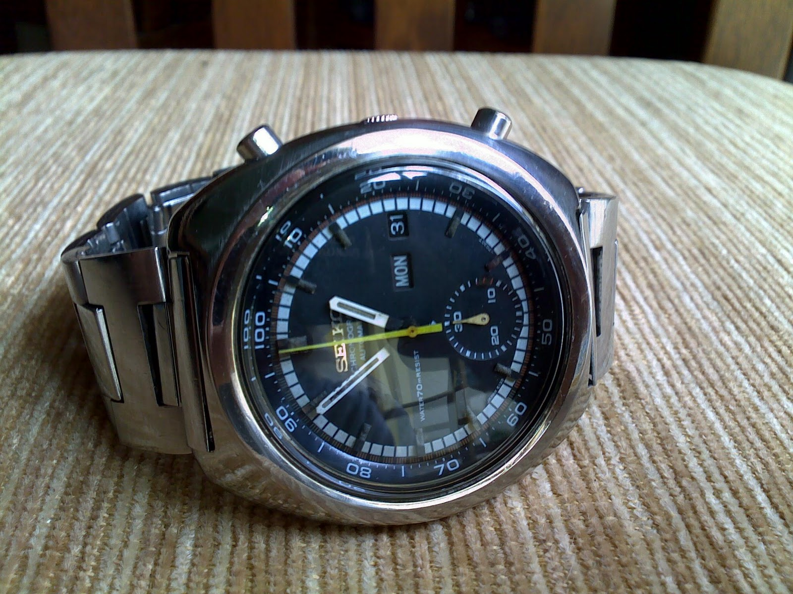 Jam Seiko Chrono 6139 (Preview only)