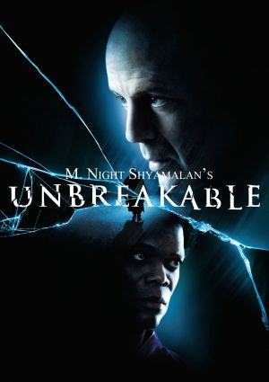 Poster Of Unbreakable (2000) In Hindi English Dual Audio 300MB Compressed Small Size Pc Movie Free Download Only At worldfree4u.com