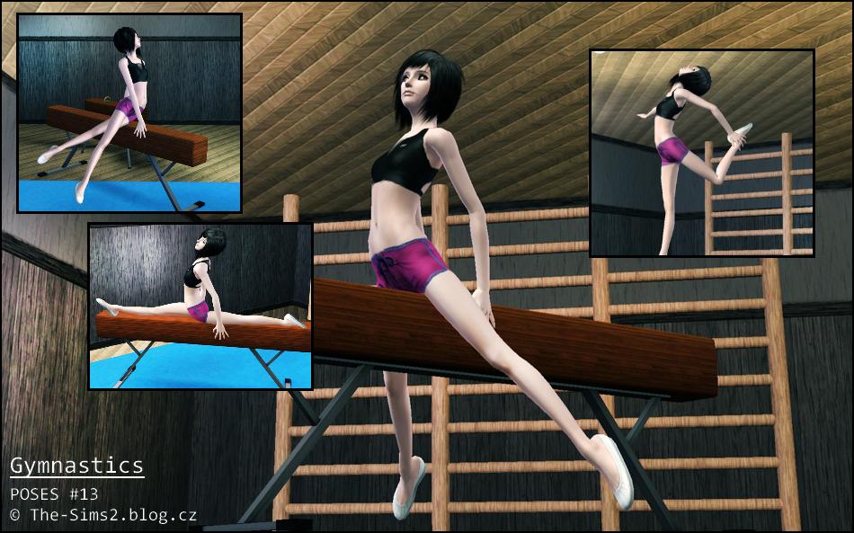 My Sims 3 Blog Gymnastics Poses By Mrs Faraday