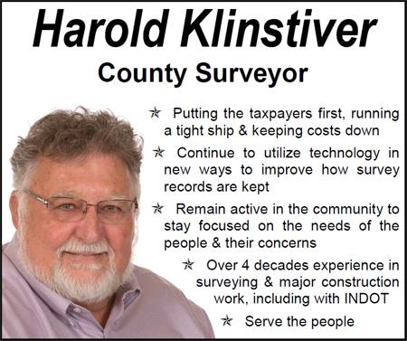Harold Klinstiver for Surveyor