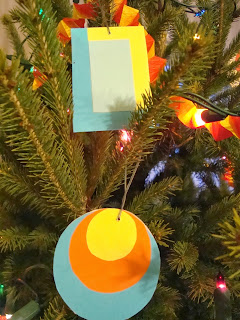 drzewko świąteczne, ozdoby ręcznie robione