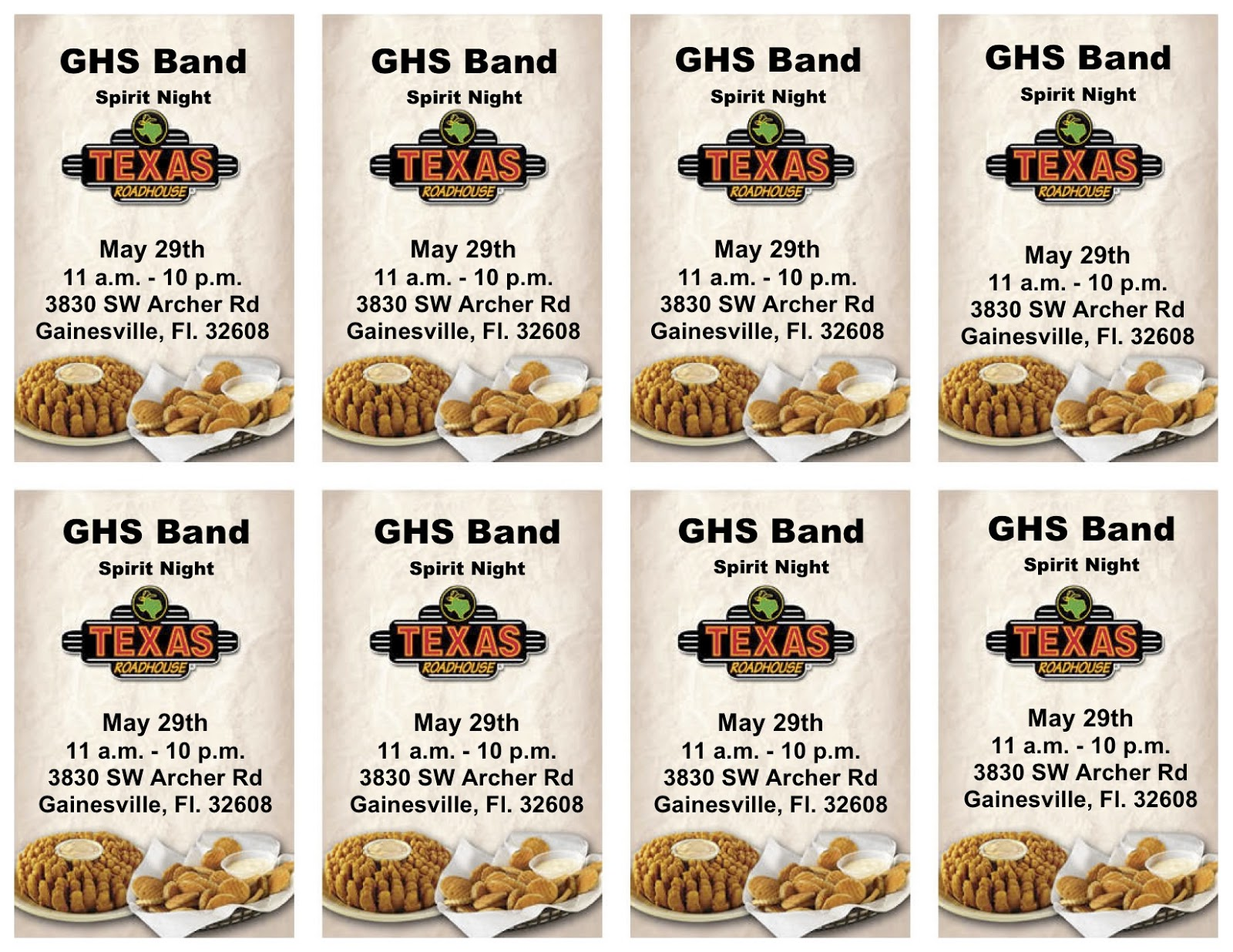 Texas roadhouse coupons gainesville fl