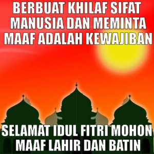 Kata Ucapan Idul Fitri