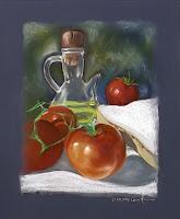 Bodegon-al-pastel-pan-con-tomate