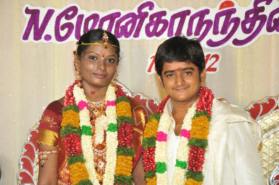 Actor Sankar & Monika Nandhini Wedding Photos