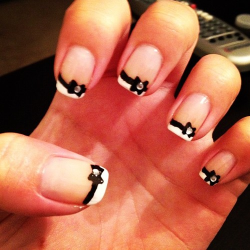 New Nail Art Bow Tie  Fashionate Trends
