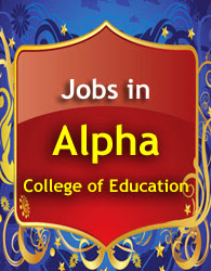 Teacher job in Alpha College of Education