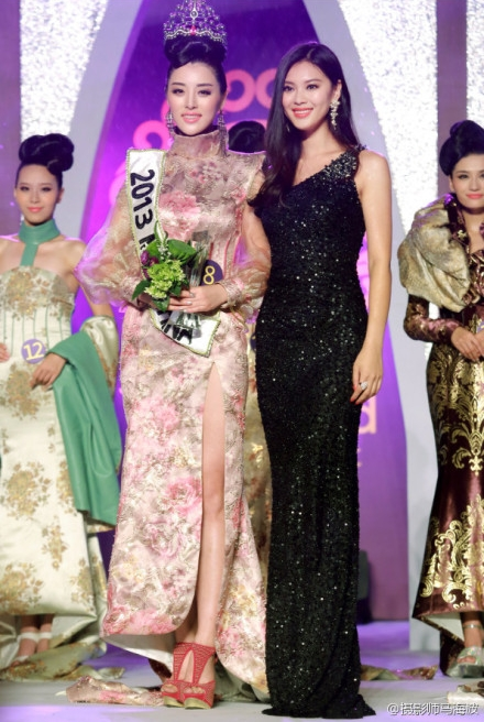 Miss World China 2013 winner Wei Wei Yu